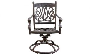 Ariana Swivel Dining Chair